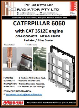 Cat 6060 Rad-AC