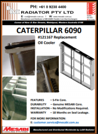 Cat 6090 Oil Cooler