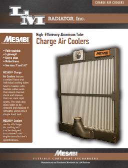 MESABI®-S-Fin-Charge-Air-Cooler